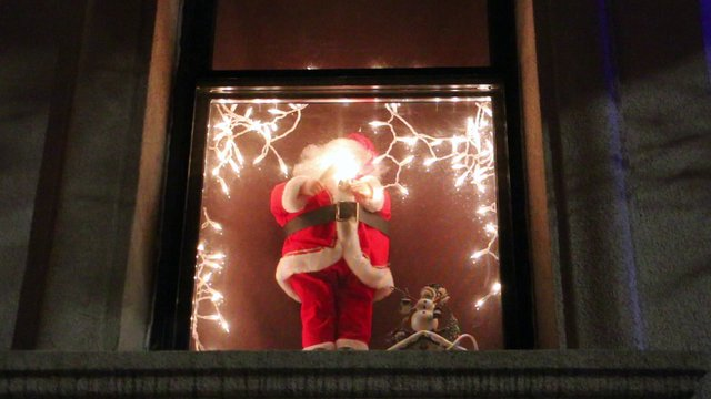 Santa Claus by the Window thumbnail