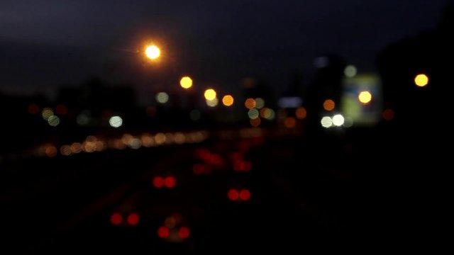 Blurry Traffic Lights thumbnail