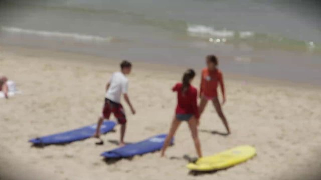 Morning Yoga on the Beach thumbnail