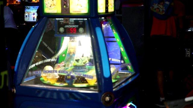 Jackpot On An Arcade Game thumbnail