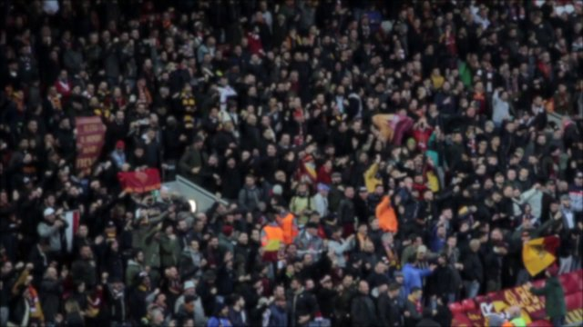 Cheering Soccer Fans thumbnail